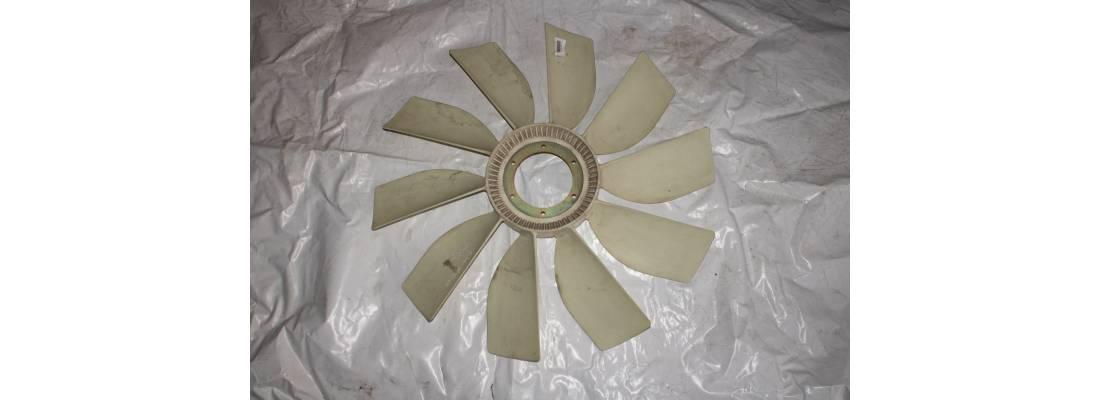 Вентилятор системы охлаждения (D-765 мм, d-127 мм, 10 лоп, 6 отв)