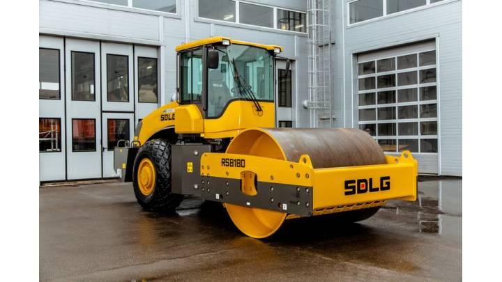 Каток дорожный SDLG RS8180
